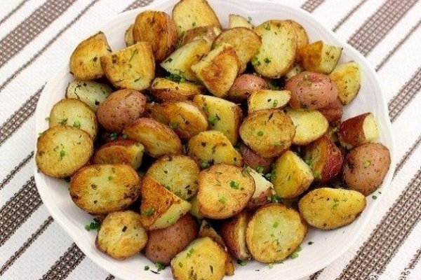 Жгучий картофель в духовке по мексикански