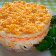Салат легкость пошаговый рецепт с фото