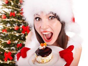 Вредная еда на новый год