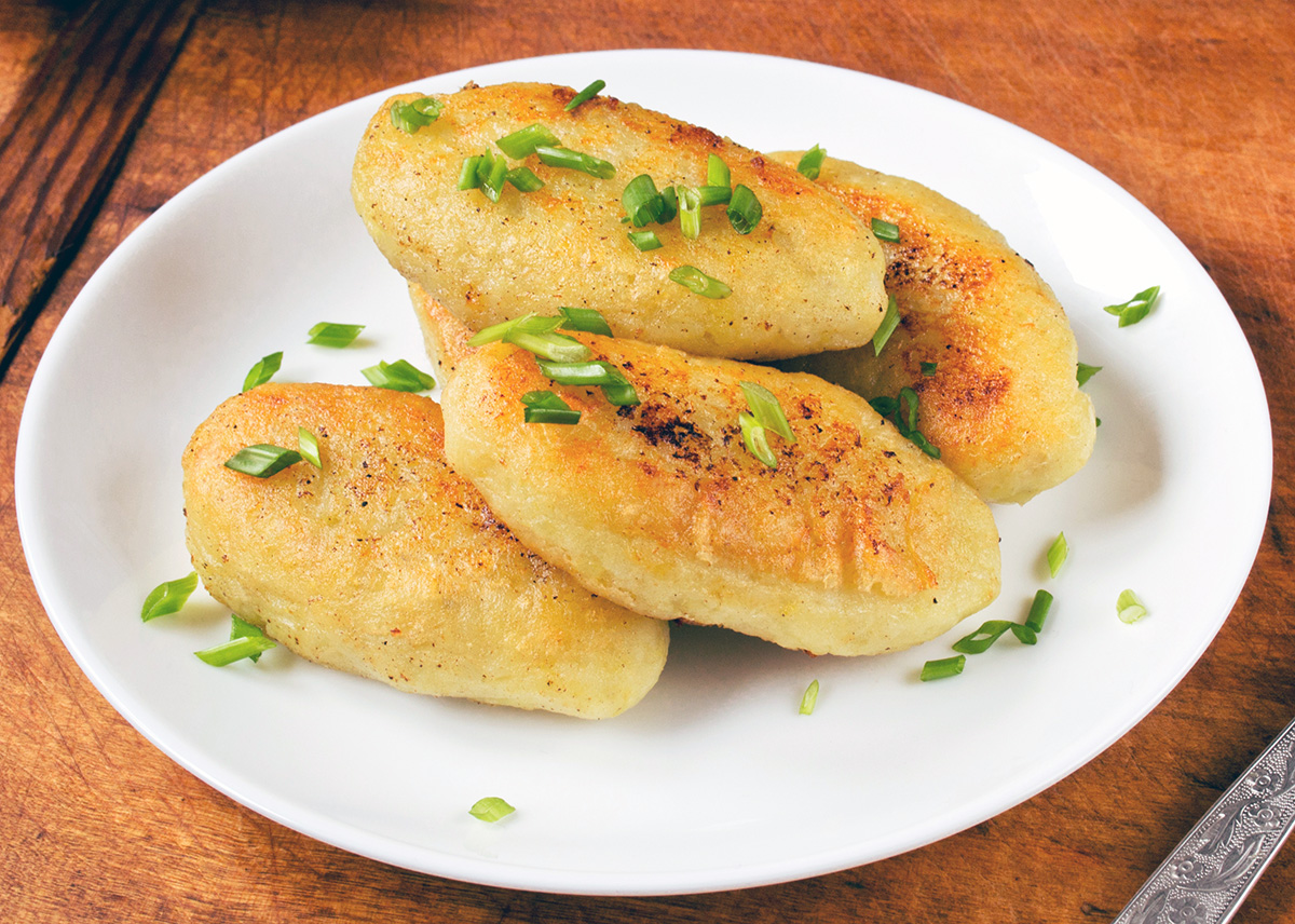 Пышные рыбные зразы из Пеленгаса с сырной начинкой