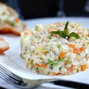 рецепт салата с курицей
